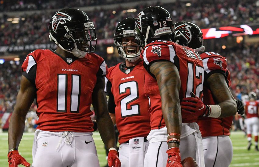 buy popular 258ba d2a95 Atlanta Falcons: Why Red is the Right Color in Super Bowl LI