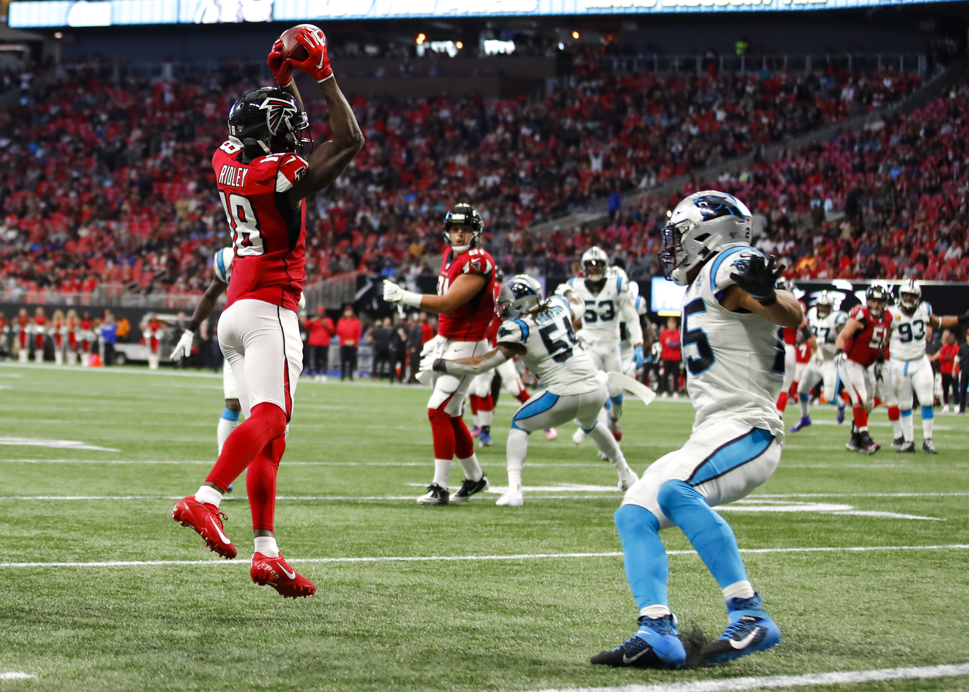 Calvin Ridley Out For The Rest Of The Season For The Atlanta Falcons
