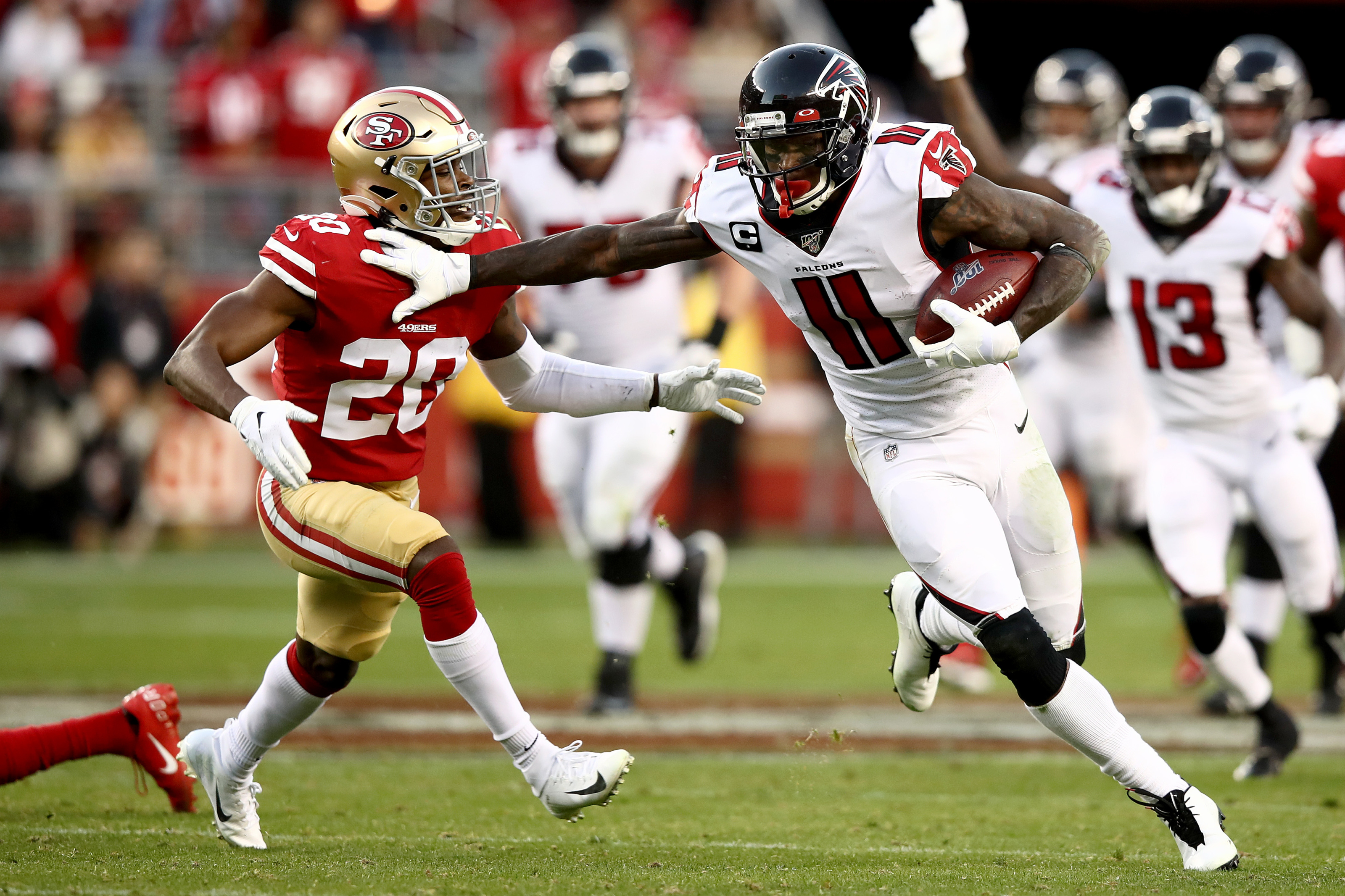 Julio Jones Reminds Us Why He S The Best Receiver In The Nfl