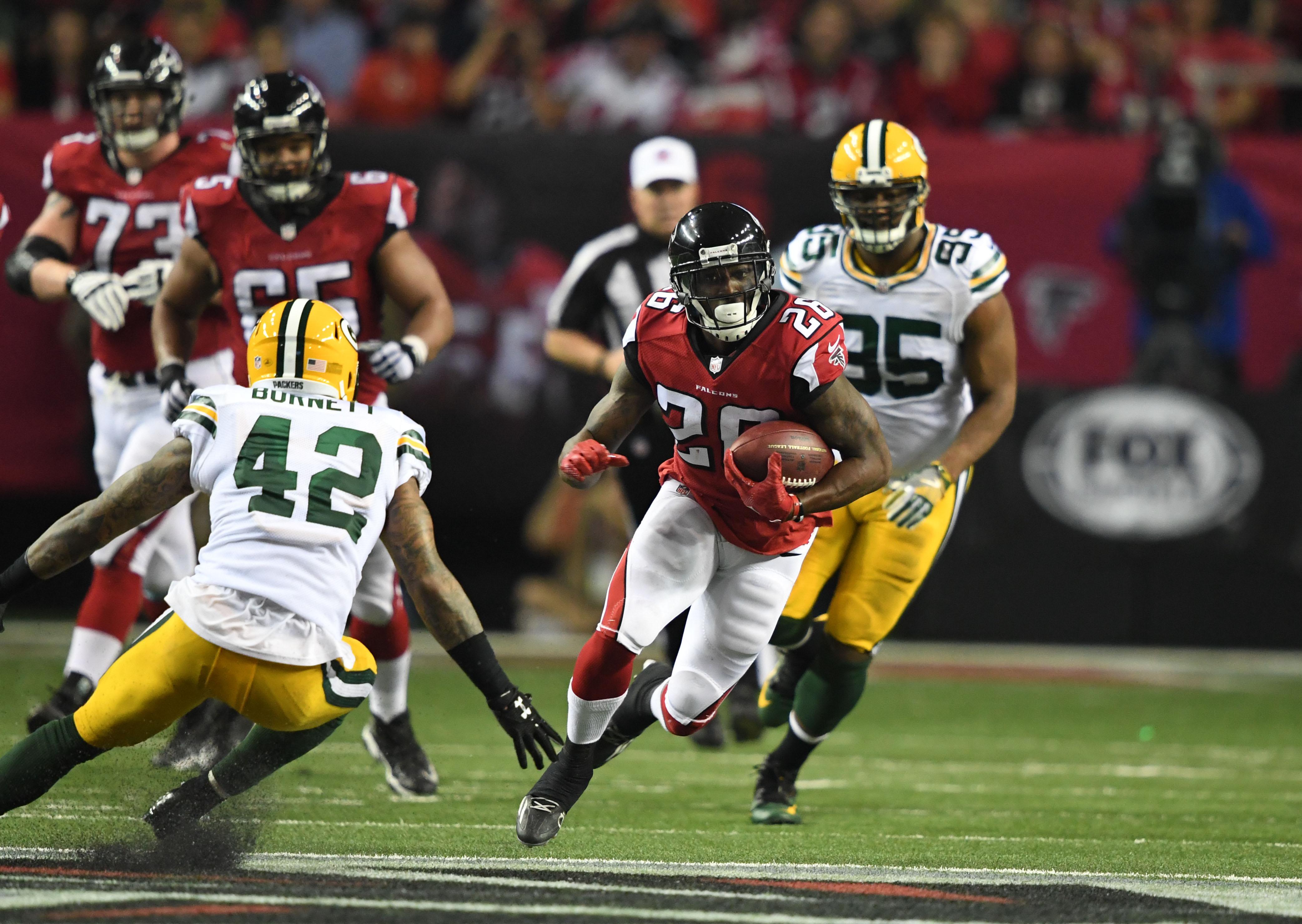 new style d3516 0f896 Atlanta Falcons: Why the offense will drive them to a Super ...